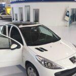 محصولات ایران خودرو به سانروف تجهیز شدند